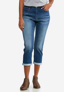 Flattering Skinny Cropped Jeans