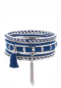 Thread Wrapped Bangle Set