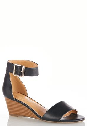 Ankle Strap Wedge Heels