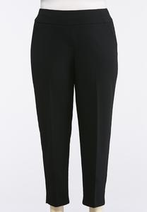 Plus Size Slim Fit Trouser Pants