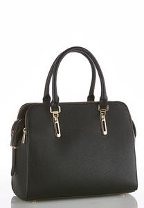 Multi Compartment Structured Satchel