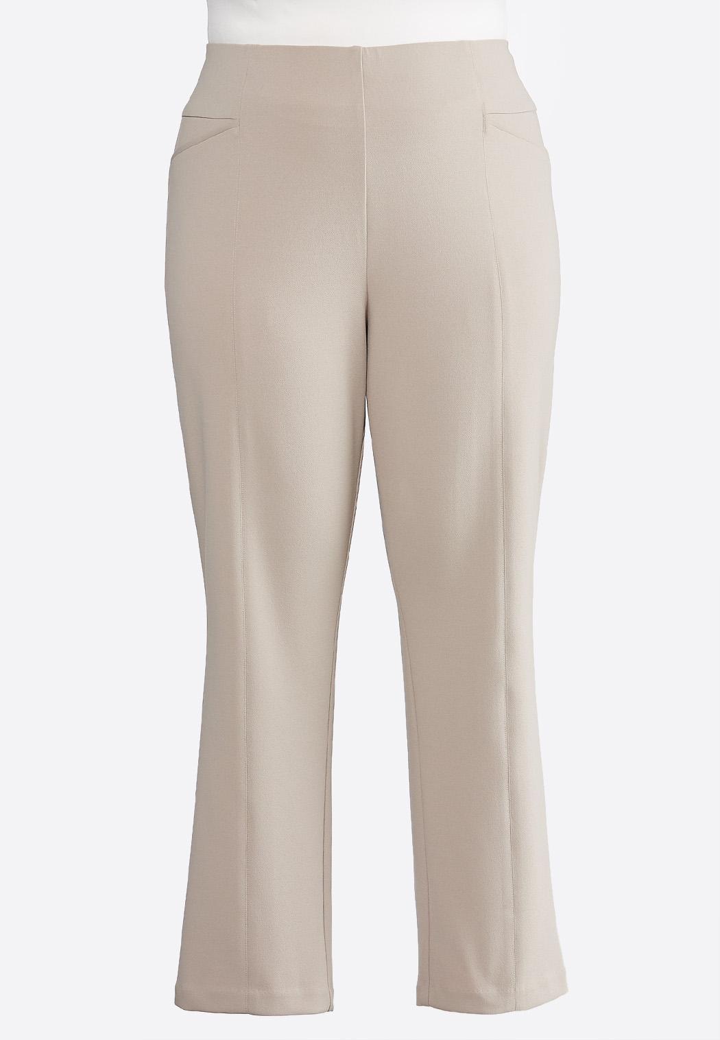 6b18fdcf6f Plus Size Twill Pintuck Pants Pants Cato Fashions