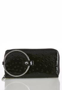 Ring Handle Wristlet Wallet