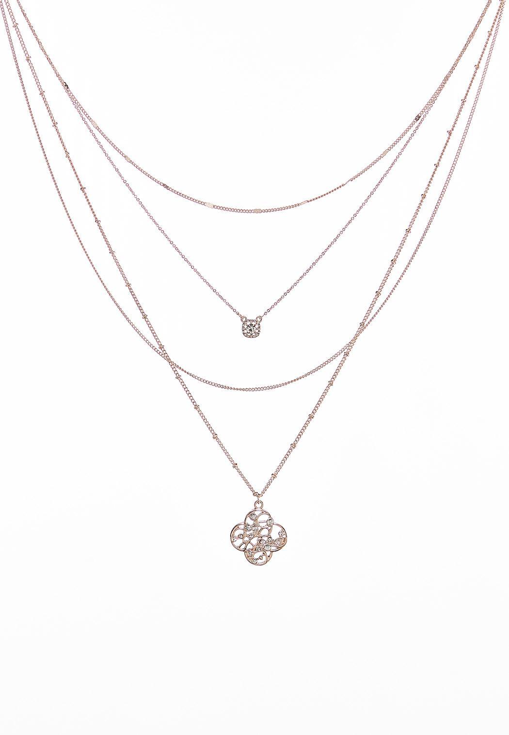 Filigree Layered Necklace