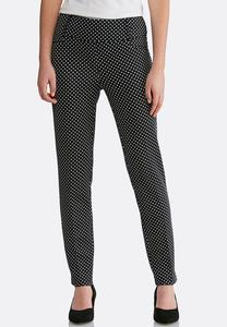 Slim Polka Dot Pants