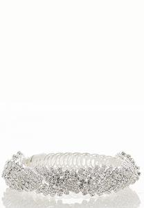Rhinestone Stretch Cuff