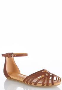 Caged Two Piece Flats