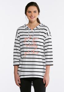 Plus Size Stripe Totally Got This Top