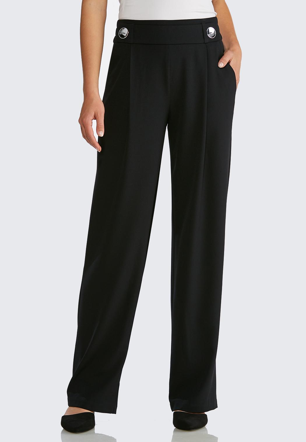 ed0ef7c9fb1 Button Front Trouser Pants Wide Leg Cato Fashions