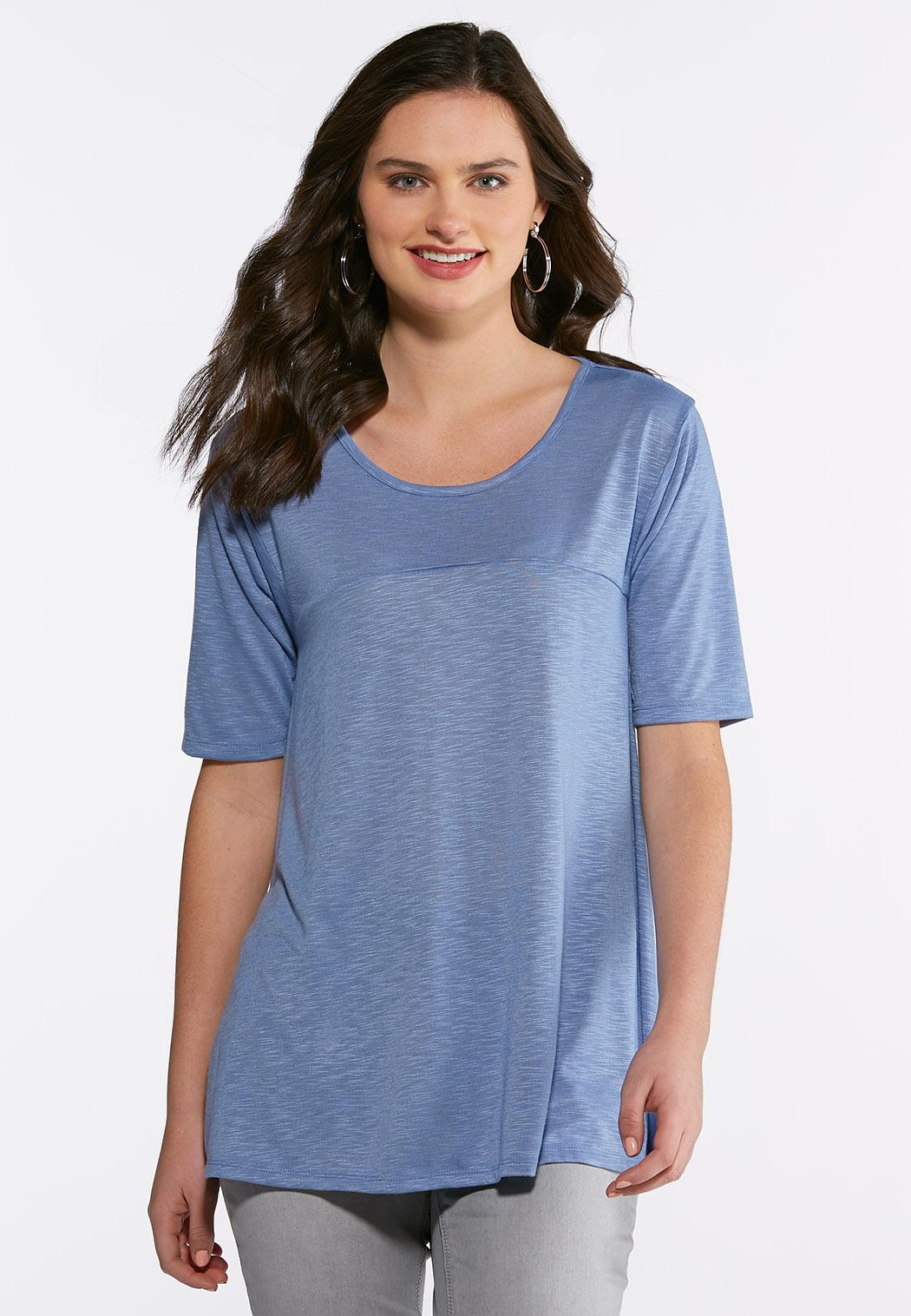 39c01c7c295a64 Plus Size Solid Swing Tee Tees & Knit Tops Cato Fashions