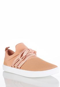 Slip-On Laced Sneakers