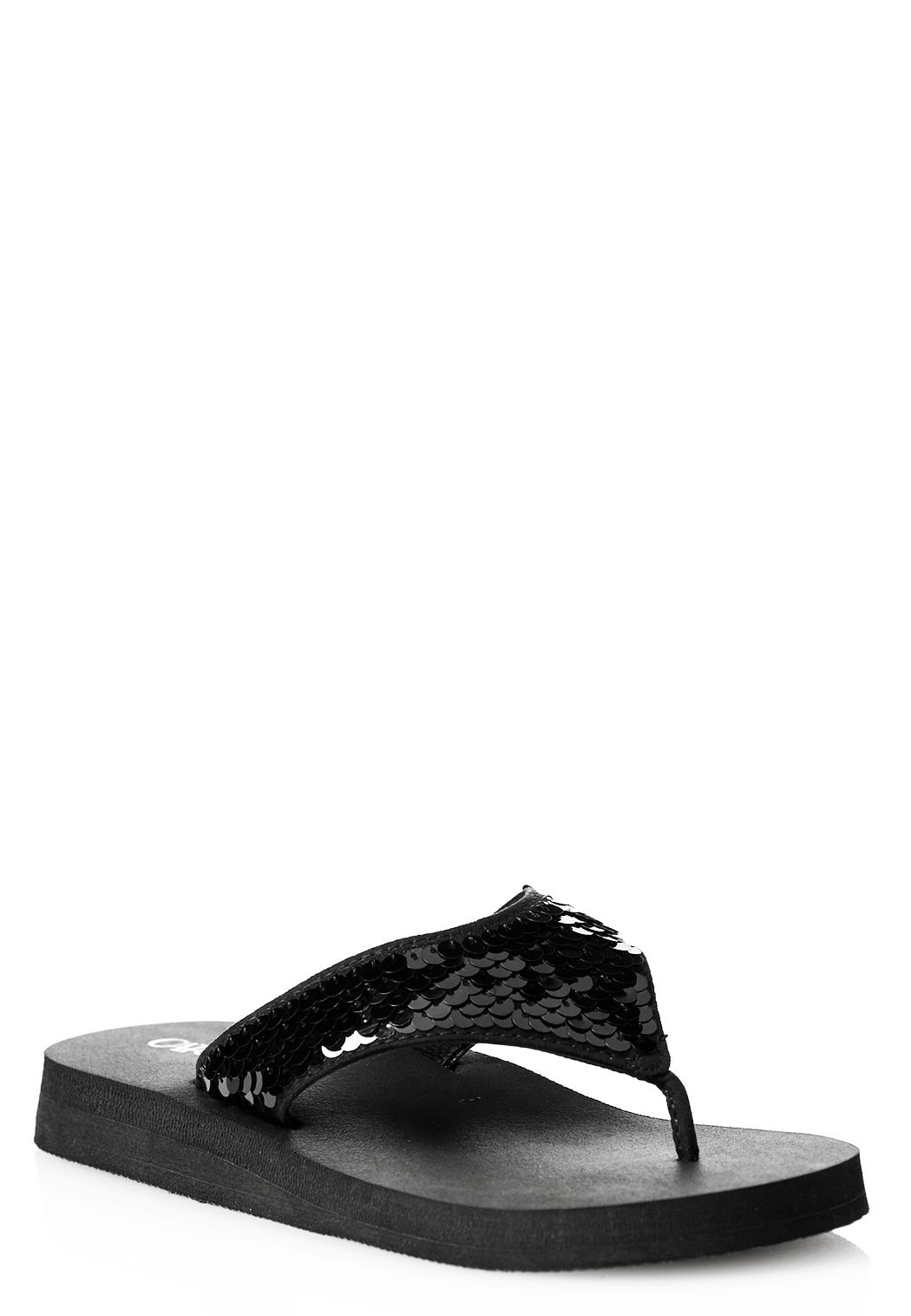 31f549a47 Sequin Platform Flip Flops Flip Flops Cato Fashions