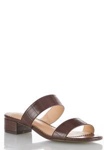 Croc Slide Sandals