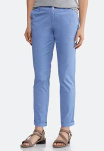 Chino Ankle Pants