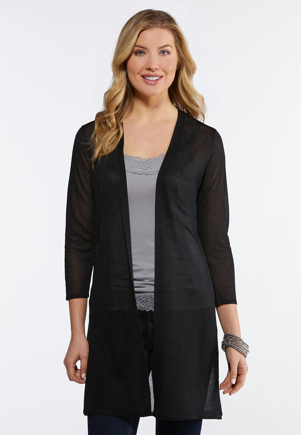 Sheer Solid Duster
