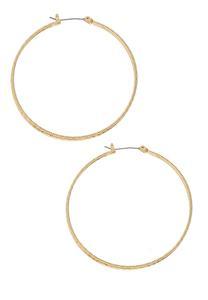 Classic Gold Hoop Earrings