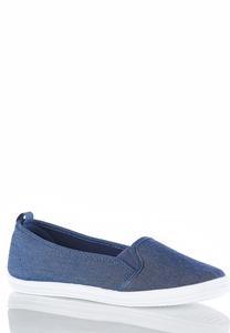 Slip-On Denim Sneakers