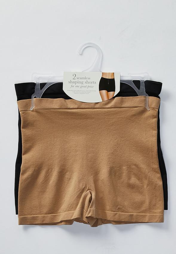 efa1437b2 Plus Size Two Piece Shaping Enhancing Short Set Shapewear Cato ...