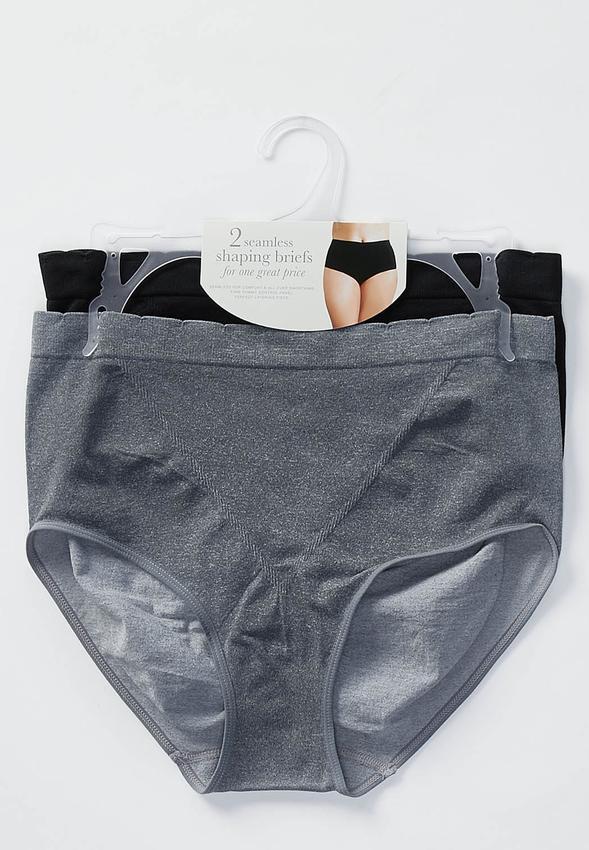 154f8d9fc8 Plus Size Two Piece Shaping Panty Set Shapewear Cato Fashions