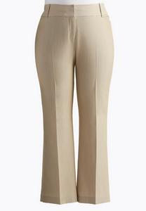 Plus Size Shape Enhancing Trouser Pants