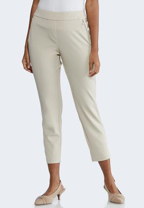 Petite Slim Zip Pocket Pants