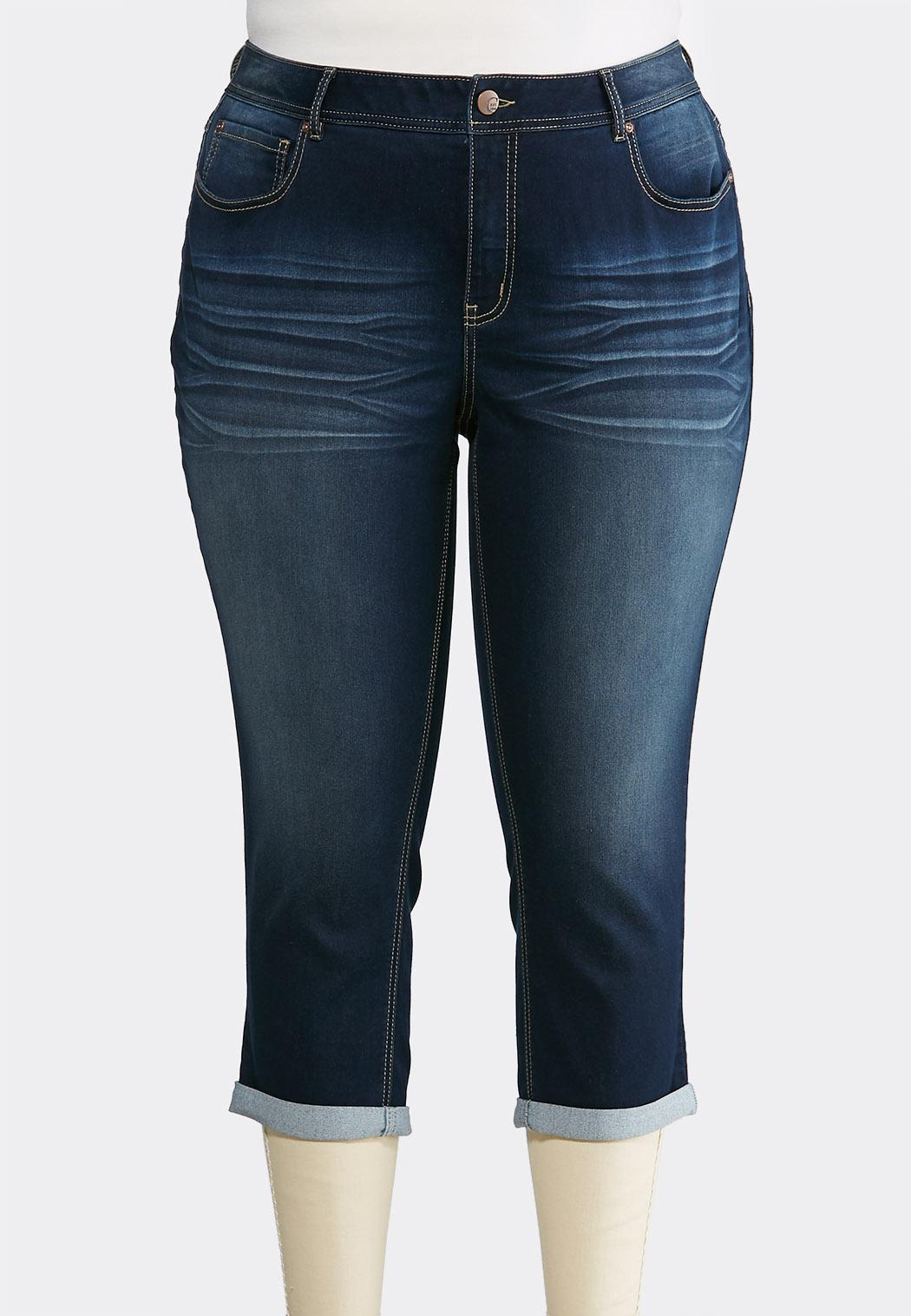 Plus Petite Cropped Skinny Jeans