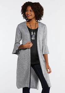 Versatile Layered Cardigan Top
