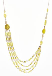 Sunshine Flower Swag Necklace