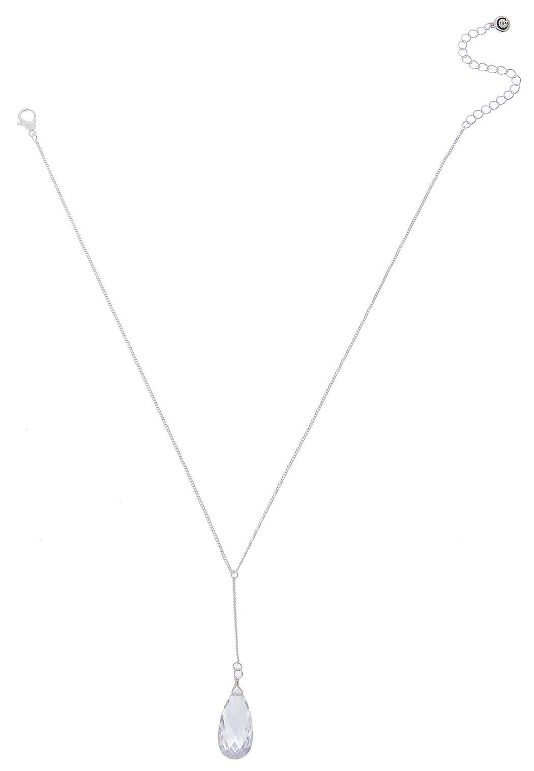 Cubic Zirconia Y-Necklace