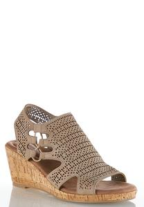 Stretch Band Perforated Wedges