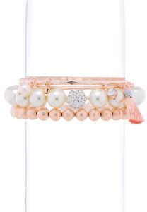 Mixed Rose Gold Bracelet Set