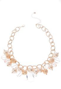 Chunky Mixed Bead Necklace