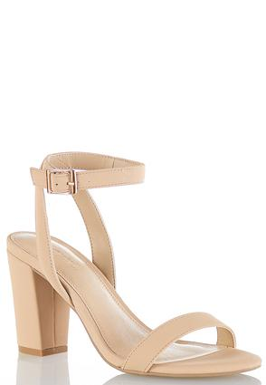 Chunky Heel Strappy Sandals