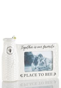 Bee Vase And Picture Frame