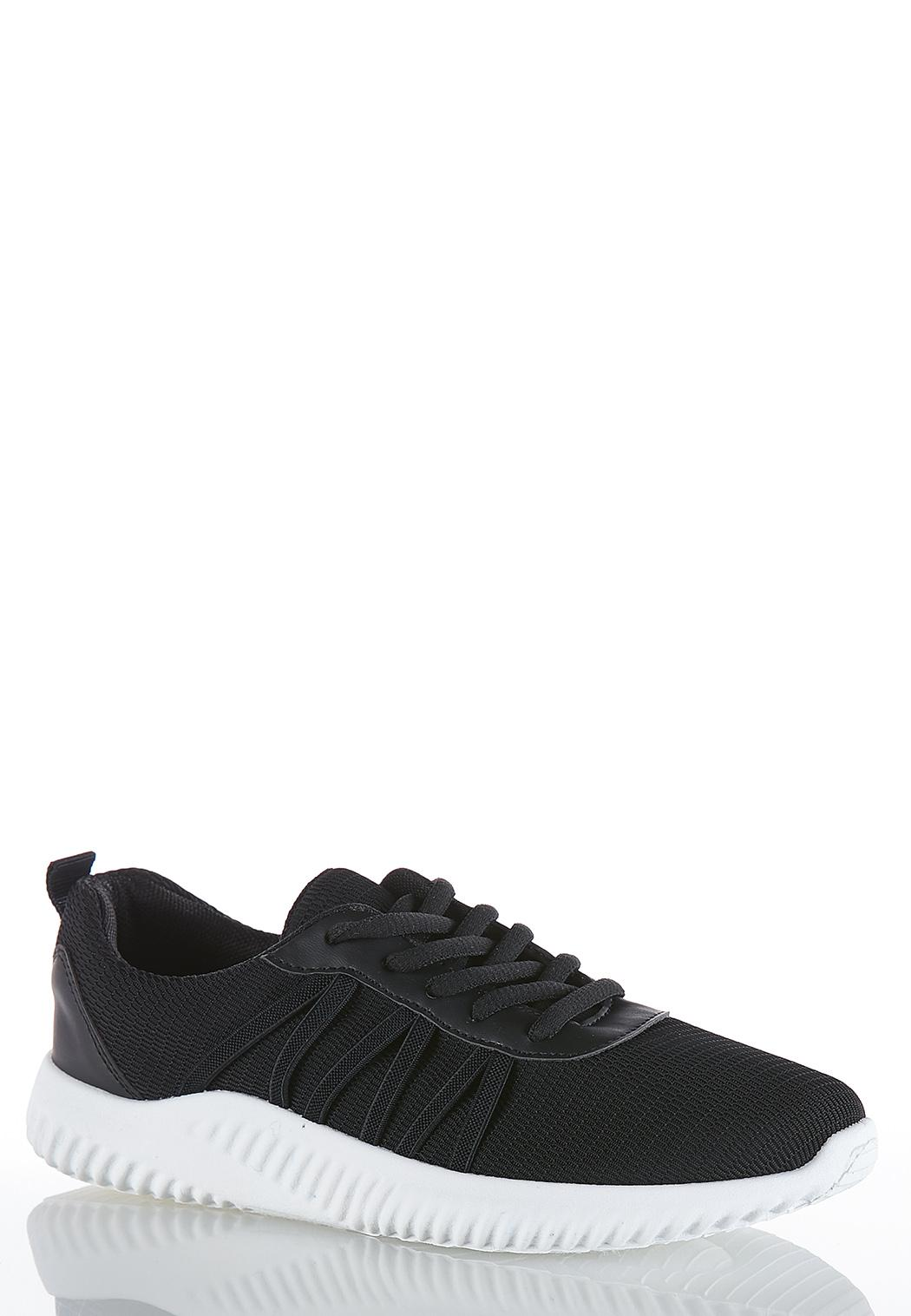 Lace Up Mesh Sneakers