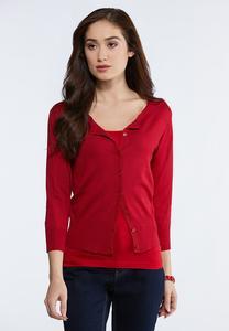 Plus Size Essential Sweater Cardigan