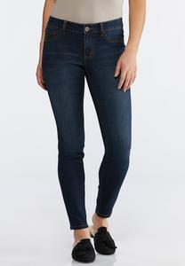 Classic Dark Wash Jeggings