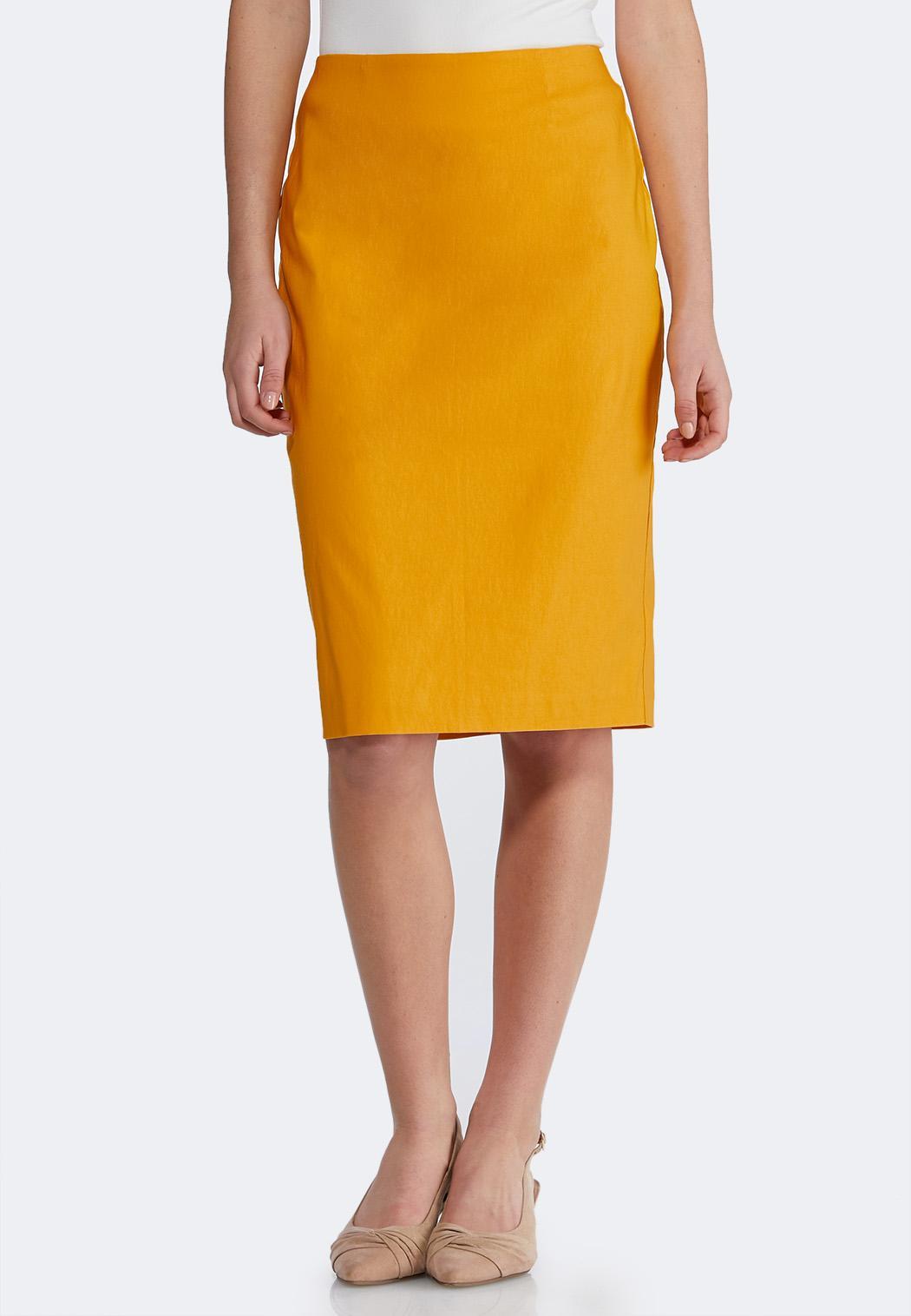 Bengaline Pencil Skirt
