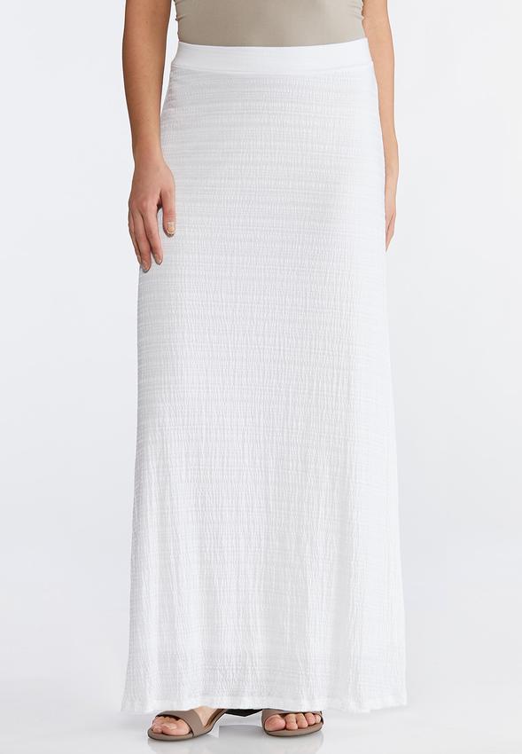b2838b6d699 Slub Knit Maxi Skirt Skirts Cato Fashions
