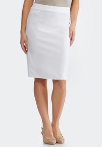 174930a560b White Pencil Skirt