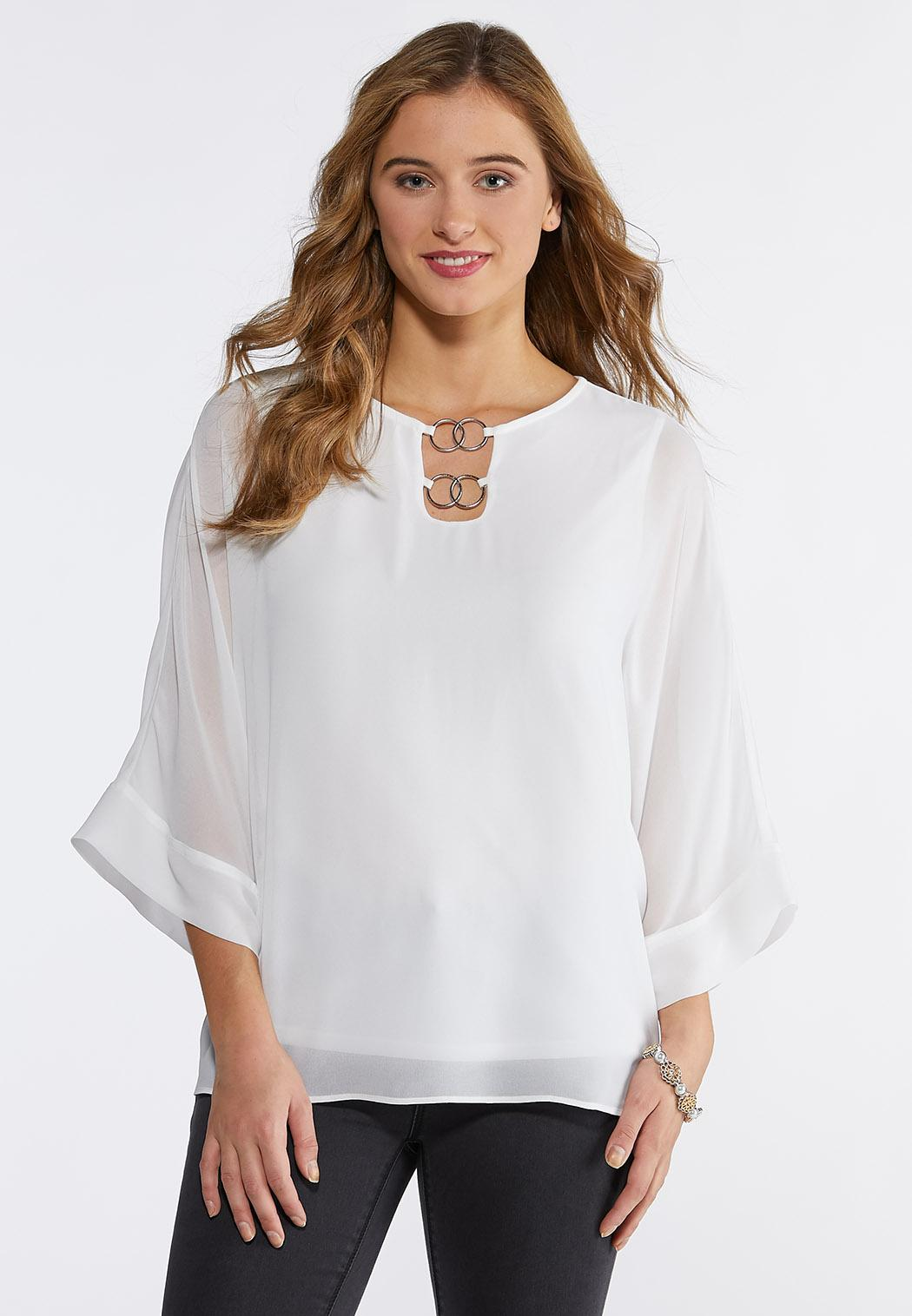 Embellished Layered Top