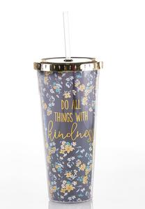 Kindness Tumbler Water Bottle