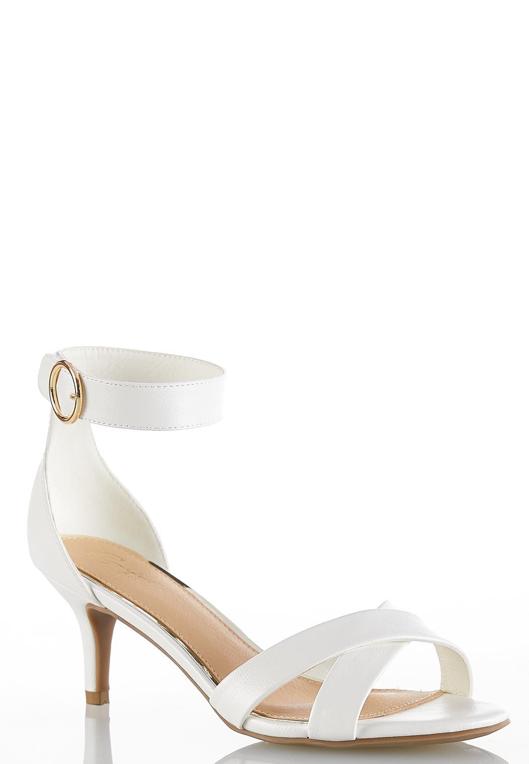 fce54f692 Ankle Strap Heeled Sandals alternate view · Ankle Strap Heeled Sandals