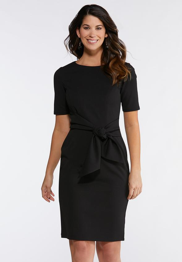 f9d4ead27 Tie Waist Sheath Dress alternate view · Tie Waist Sheath Dress