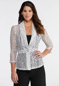 Delicate Lace Blazer