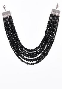 Chunky Layered Bead Necklace