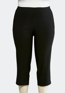 Plus Extended Cropped Bengaline Pants