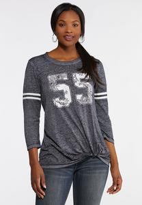 Plus Knotted 55 Sport Tee