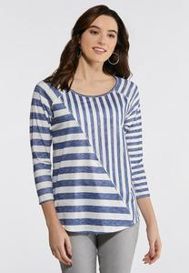 Plus Size Sublime Stripe Top