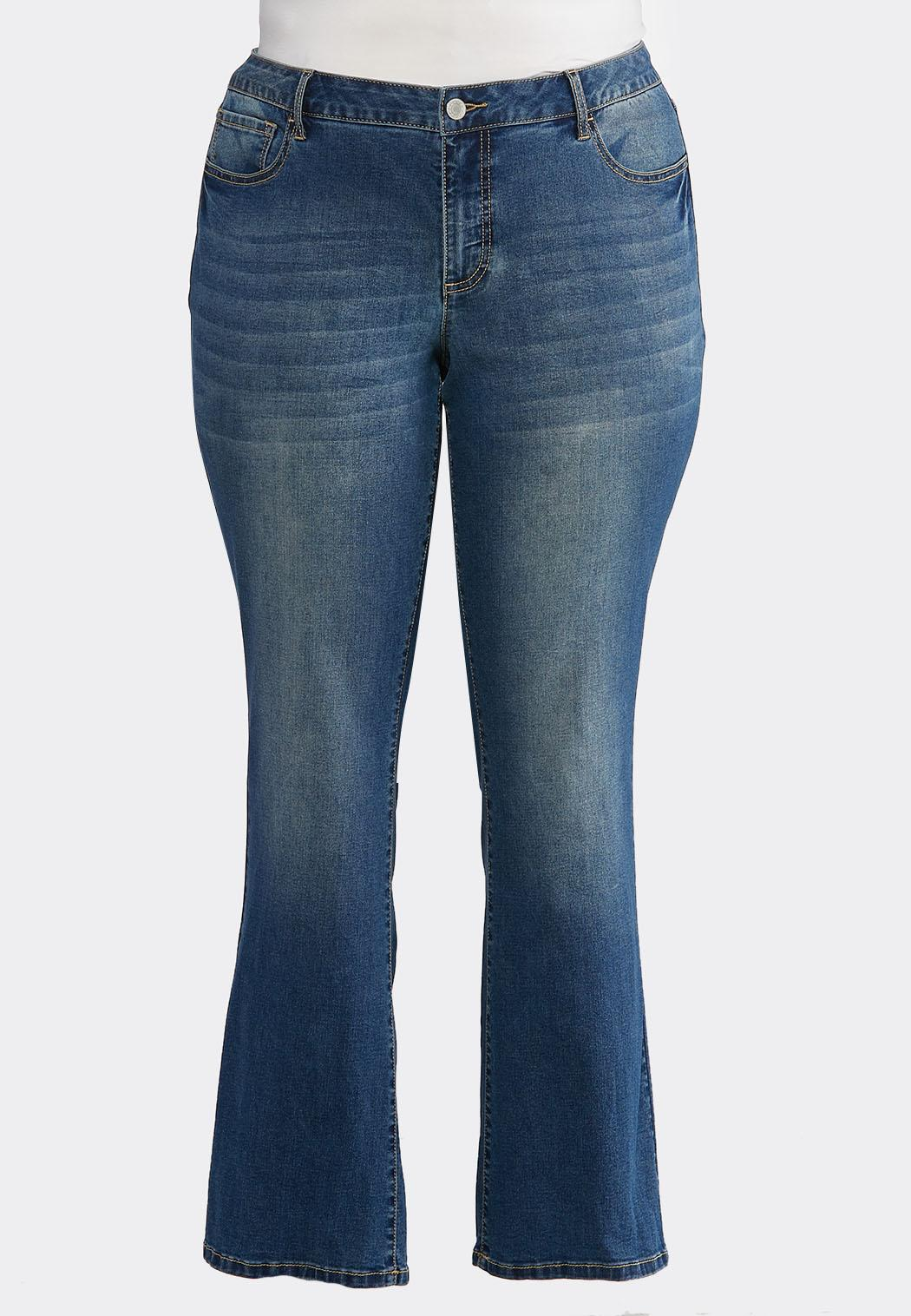 004331a40b2 Plus Size Slimming Bootcut Jeans Bootcut Cato Fashions